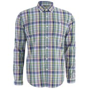 Barbour Men's George Oxford Shirt - Lawn Check