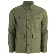 Barbour Men's Marshall Overshirt - Light Moss