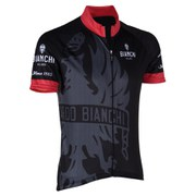 Bianchi Cinca Short Sleeve Jersey - Black/Red