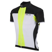 Nalini Red Label Mythos Short Sleeve Jersey - White/Yellow
