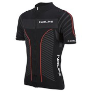 Nalini Red Label Taverino Short Sleeve Jersey - Black/Red