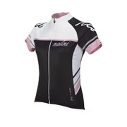 Nalini Pink Label Women's Cycle Tl Short Sleeve Jersey - Black/White