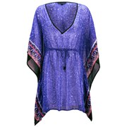 French Connection Women's Bali Border Kaftan - Bali Floral