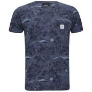 WeSC Men's Sarek Hawaii Printed T-Shirt - Coronet Blue