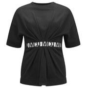 McQ Alexander McQueen Women's Short Sleeved Sweat Detailed Jumper - Black