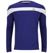 adidas Response Men's Long Sleeve T-Shirt - Night Flash/White
