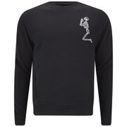 Religion Men's Praying Skeleton Sweatshirt - Jet Black