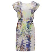 nümph Womens Garland Printed Dress - Lavender Fog