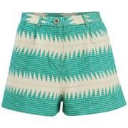 Mara Hoffman Women's Jaquard Shorts - Turquoise
