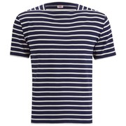 Armor Lux Men's Breton T-Shirt - Navy/White