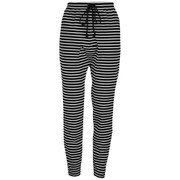 The Fifth Women's Laguna Track Pants - Black/White