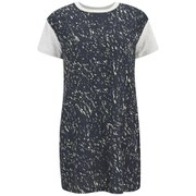 The Fifth Women's Sleepwalker T-Shirt Dress - Dark Galaxy