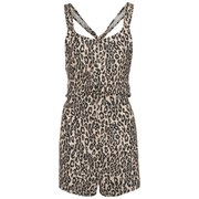 The Fifth Women's Stella Playsuit - Leopard Print