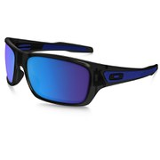 Oakley Turbine Sunglasses - Black Ink/Sapphire Iridium