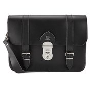 Grafea Women's Berlin Leather Satchel - Black