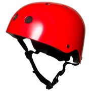 Kiddimoto Helmet - Metallic Red