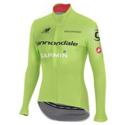 Castelli Cannondale Garmin Gabba 2 Long Sleeved Jersey - Sprint Green
