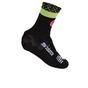 Cannondale Garmin Belgian Bootie Shoe Cover - Black/Green