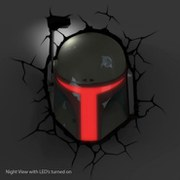 Star Wars Boba Fett 3D Wall Light