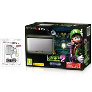 Nintendo 3DS XL Silver/Black + Luigi's Mansion 2