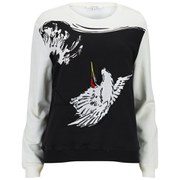 Carven Women's Printed Sweatshirt - Multi