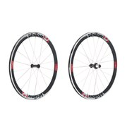 Vision 2014 TriMax T42 Carbon Wheelset - Red - Campagnolo