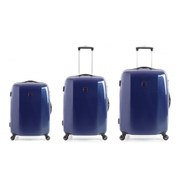 Redland '60TWO Collection' Hardsided Trolley Suitcase Set - Navy (3 Piece) 75/65/55cm