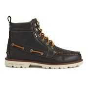 Sperry Men's A/O Lug Waterproof Leather Lace Up Boots - Brown