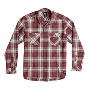 Quiksilver Men's Everyday Flannel Check Shirt - Rosewood