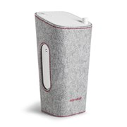 Sonoro Cubo Go New York Portable Bluetooth Speaker - White/Grey Felt