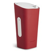Sonoro Cubo Go New York Portable Bluetooth Speaker - White/Red
