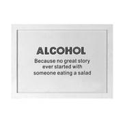 Parlane Alcohol Wall Art - White