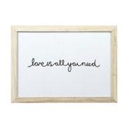 Parlane Love Wall Art - White
