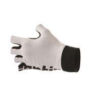 Santini Sleek Racing Gloves - White