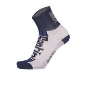 Santini Tau Carbon M Profile Socks - White/Blue