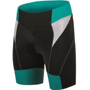 Santini Anna Women's Pro Grace Pad Shorts - Black/Green