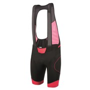 Santini B-ROB Aero NAT Pad Bib Shorts - Red