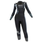 Zone3 Advance Women's Wetsuit - Black/Silver