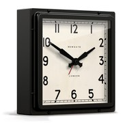 Newgate Mini Quad Clock - Black
