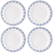 Sophie Conran for Portmeirion Dinner Plate - Betty - White (Set of 4)