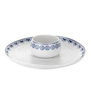Sophie Conran for Portmeirion Dipping Dish and Platter - White