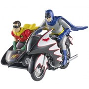 Batman Hot Wheels Diecast Modell 1/12 Classic TV Series Batcycle