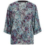 ONLY Women's Choice 3/4 Kimono - Cloud Dancer Multi