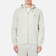 Polo Ralph Lauren Men's Zip Through Hooded Athletic Fleece - Spt Heather