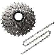 Shimano 105 CS-5800 Bicycle Chain and Cassette - 11 Speed - 11/32