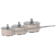 Morphy Richards Accents 3 Piece Pan Set - Barley