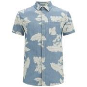 Jack & Jones Men's Originals Loud One Pocket Shirt - Dark Blue Denim