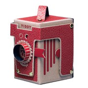 Viddy Pop Up Pinhole Camera Kit - Red