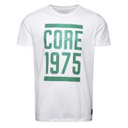 Jack & Jones Men's Core Fly T-Shirt - White and Green