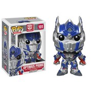 Transformer Optimus Prime Metallic Exclusive Pop! Vinyl Figure